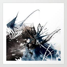 O Chaos Art Print