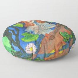 Bestiary: Rusalka Floor Pillow