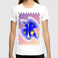 astrology T-shirts featuring Astrology, Aquarius by Karl-Heinz Lüpke