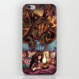 The Owl Princess And Her Night Terrors iPhone Skin