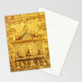 Wat Mai Temple Gold Leaf Stationery Cards