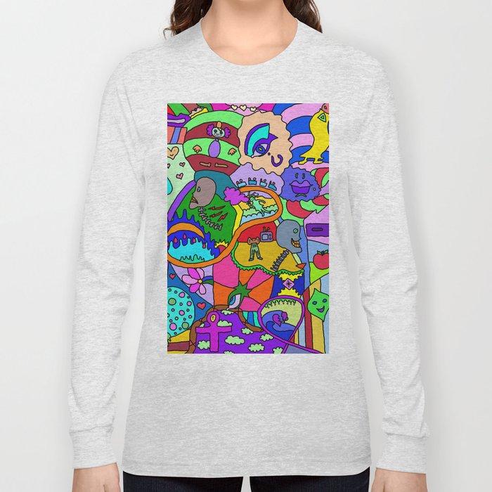Abstract 16, RA Long Sleeve T-shirt