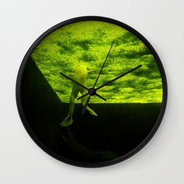 The Mysterious World Of Frogs Wall Clock