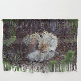Sleeping Fox Wall Hanging