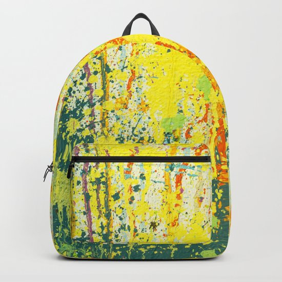 splash paint Backpack