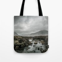 skyfall Tote Bags featuring Skyfall by tipptapp