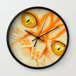 Persian Kitty Wall Clock