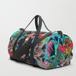 Frida´s secret smile Duffle Bag