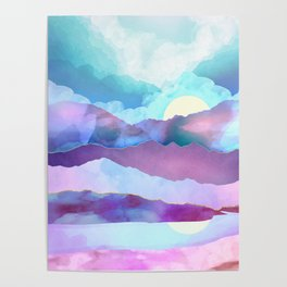 Opal Mountains Poster