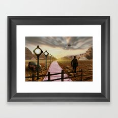 Moment of time Framed Art Print