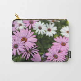White And Lavender Tutsan Flowers Carry-All Pouch