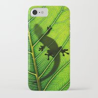 lizard iPhone & iPod Cases featuring Lizard by Nicklas Gustafsson