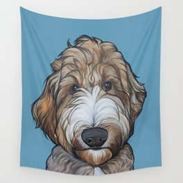 Seamus the Labradoodle Wall Tapestry