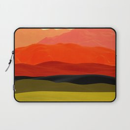 Mountains in Gradient Laptop Sleeve