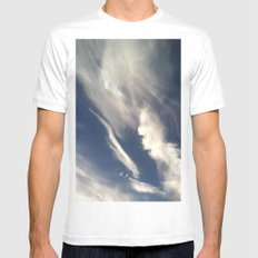Wing It Mens Fitted Tee White MEDIUM