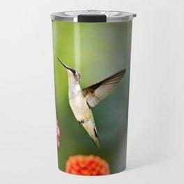 Hummingbird Hovering Travel Mug