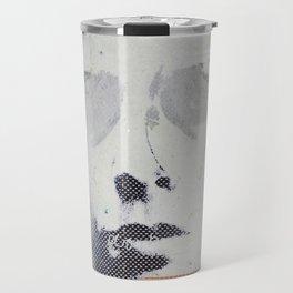 « autoportrait / dans mes brumes » Travel Mug