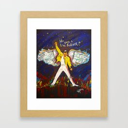Freddie Angel Framed Art Print