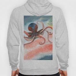 Octopus Watercolor Hoody