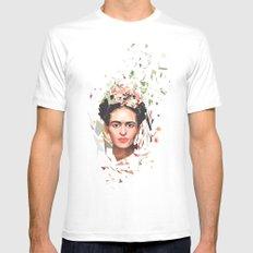 Frida Mens Fitted Tee White MEDIUM