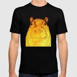 Golden Hippo T-shirt
