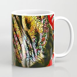 The TIGER from our FUNK YOUR FELINE line Coffee Mug