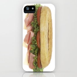 Deli Sandwich iPhone Case