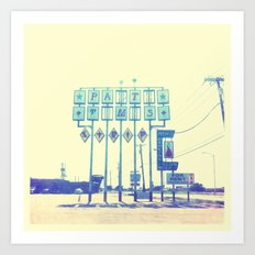 That Side of Town Art Print