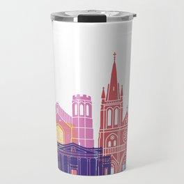 Adelaide V2 skyline pop Travel Mug
