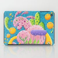 psychadelic iPad Cases featuring Psychadelic Pink by sophie gerl