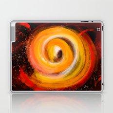 Sun burst in the galaxy Laptop & iPad Skin