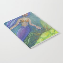 The Mermaid and The Turtles Notebook
