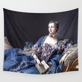 Madame De Pompadour Wall Tapestry