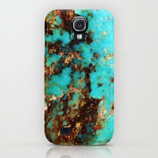 Turquoise I Slim Case Galaxy S4
