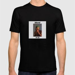 Frank -  Blonde - Ocean - Album Illustration Hip Hop T-shirt