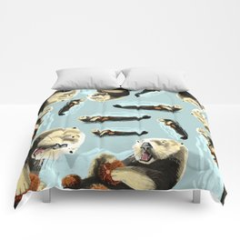 Sea Otter Comforters