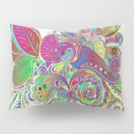 Abstract Mardi Gras Pillow Sham