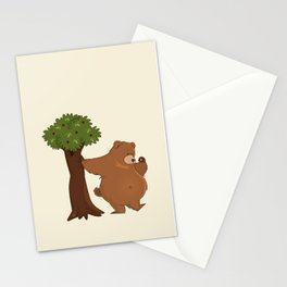 Bear and Madrono Stationery Cards