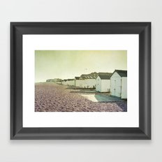 huts Framed Art Print
