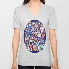 If Happiness Could Be Bottled  Unisex V-Neck