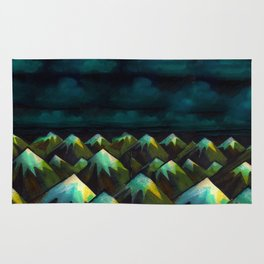 Night Mountains.  Rug