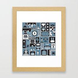Turbo Lovers Framed Art Print