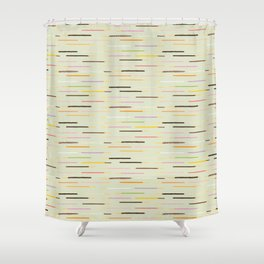 21 flavors of pocky - matcha green Shower Curtain