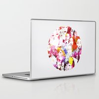 ultraviolence Laptop & iPad Skins featuring Ultraviolence by Kat Heroine