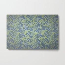 LEAF CURLS Metal Print