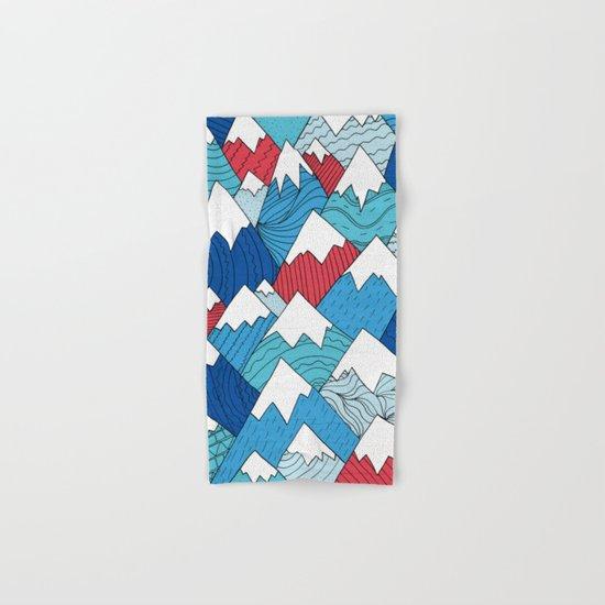 Mountain Pattern 2.0 Hand & Bath Towel
