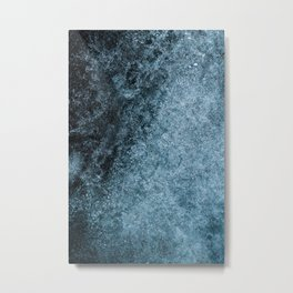 Blue Fade (Color) Metal Print
