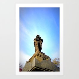 The Turning Sky Art Print