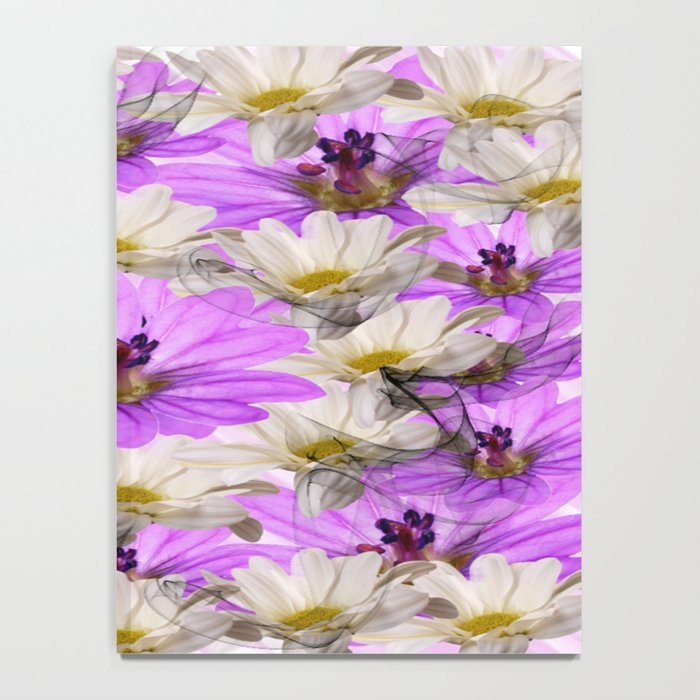 Floral Circle Abstract Notebook