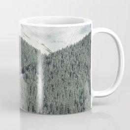 Where the Mountains End Coffee Mug